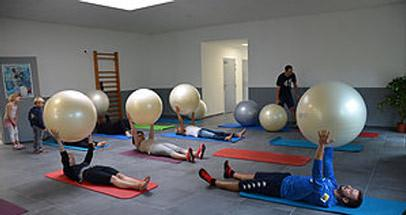 Swissball gym ballon